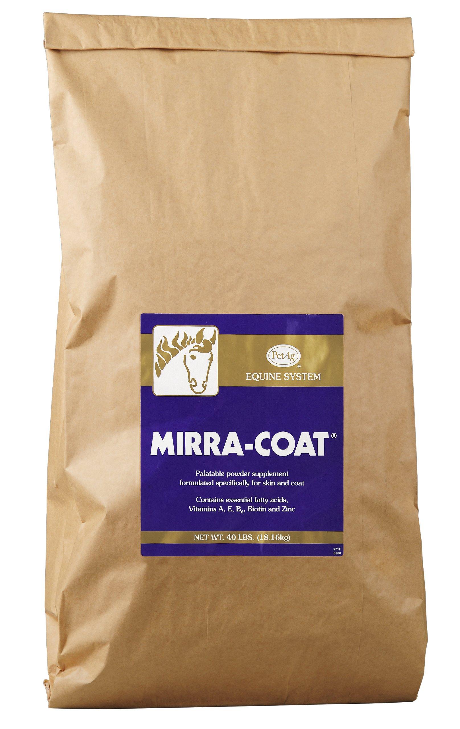 Mirra-Coat Powder Coat Supplement for Equine, 40-Pound