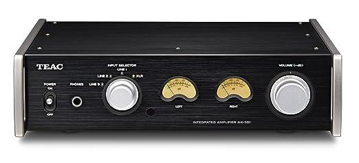 Amazon.com: Teac AX-501-B Integrated Amplifier (Black): Electronics