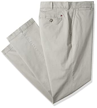 fbc68e7a Amazon.com: Tommy Hilfiger Men's Big and Tall Classic Fit Stretch Chino  Pants: Clothing