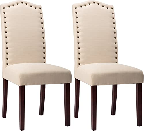 NOBPEINT Upholstered Dining Room Chairs Set