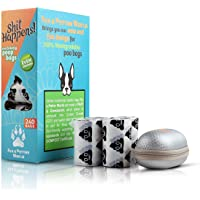Eco-Friendly 100% Biodegradable Dog Poop Bags, Made of PBAT & Cornstarch which is the only material fusion that allows…