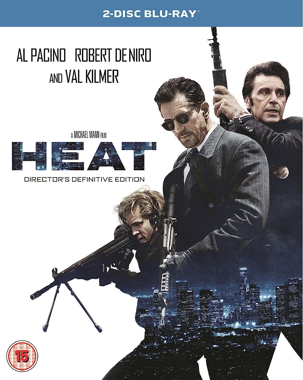 Heat Remastered Blu Ray 1995 Amazon Co Uk Al Pacino Robert De Niro Val Kilmer Tom Sizemore Michael Mann Al Pacino Robert De Niro Dvd Blu Ray