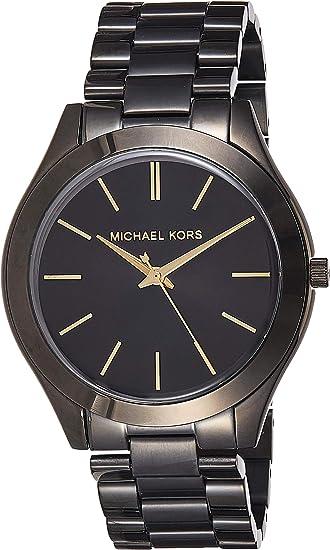 Michael Kors Slim Runway Damen Armbanduhr Edelstahl 42 mm