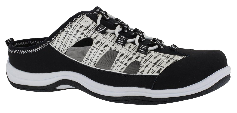 Easy Street レディース 30-8021 Black Leather/White&black Snake 9WW 9WWBlack Leather/White&black Snake B07CB412WR