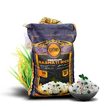 Crown Premium Extra Long Basmati Rice