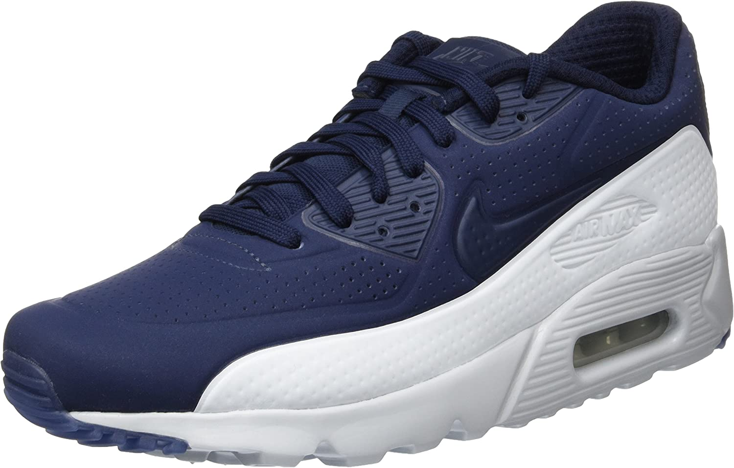 Trivial pastel instante  Nike Air Max 90 Ultra Moire, Men's Running Shoes, Blue  (Obsidian/Obsidian-Pr Platinum), 6 UK (40 EU): Amazon.co.uk: Shoes & Bags