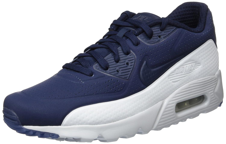 Nike Herren Air Max 90 Ultra Moire Laufschuhe  40 EU|Blau (Obsidian/Obsidian-pr Platinum)