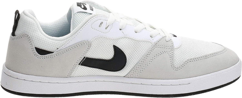 Nike SB Alleyoop, Chaussure d\'athlétisme Mixte Blanc Noir