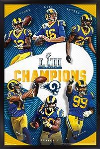 Trends International NFL New England Patriots - Commemorative Super Bowl LIII - Champions Wall Poster, 22.375