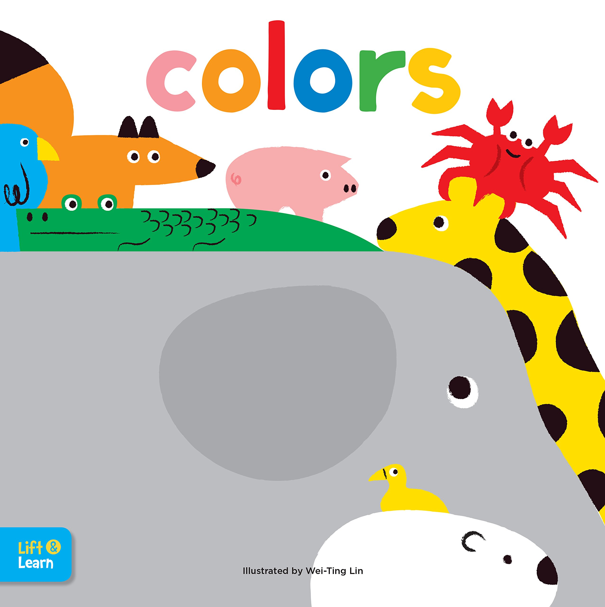 Download Colors Lift & Learn: Interactive flaps reveal basic concepts for toddlers (Lap Board Concepts) ebook