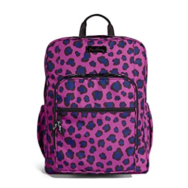 09bb4ff9d7b6 Image Unavailable. Image not available for. Color: Vera Bradley Women's Lighten  Up Medium Backpack Leopard Spots