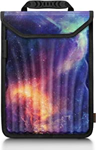 """FINPAC Laptop Sleeve Case for 13 inch New MacBook Air A2179 A1932, MacBook Pro 13.3"""" (2016-2020), Surface Pro X/7/6/5 - EVA Hard Shell Shockproof Notebook Protective Carrying Bag (Galaxy)"""