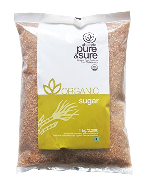Pure sure organic sugar brown 1kg amazon grocery gourmet pure sure organic sugar brown fandeluxe PDF
