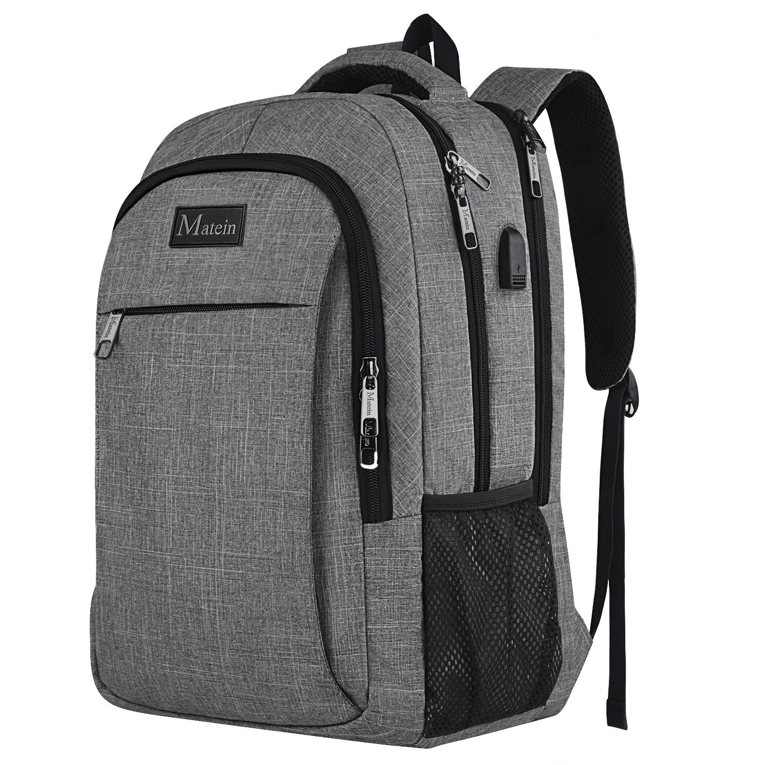 626ffe626a8 Travel Laptop Backpack, Professional Business Backpack Bag with USB  Charging Port, Slim Lightweight Laptop Bag, Water Resistant School Rucksack  for Women ...