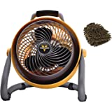 Vornado 293 Fan, Heavy Duty Shop Circulator (Complete Set) w/ Bonus: Premium Microfiber Cleaner Bundle