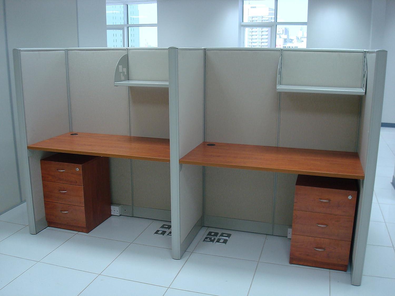 2 hombre U multifunción estaciones de trabajo/de baño forma de L + ...