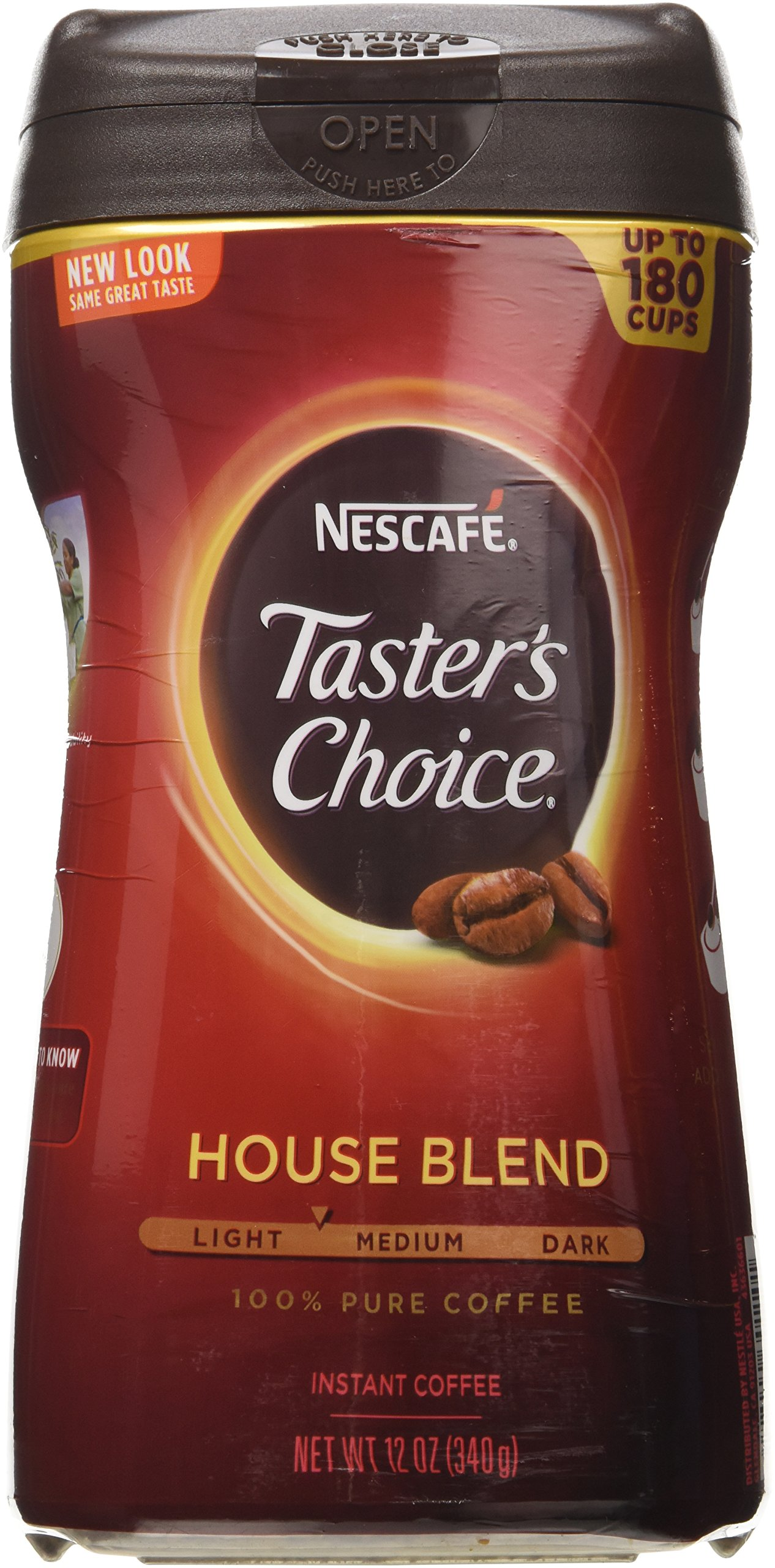 "Taster's Choice Original Gourmet Instant Coffee 12Oz ""3 Pack"""