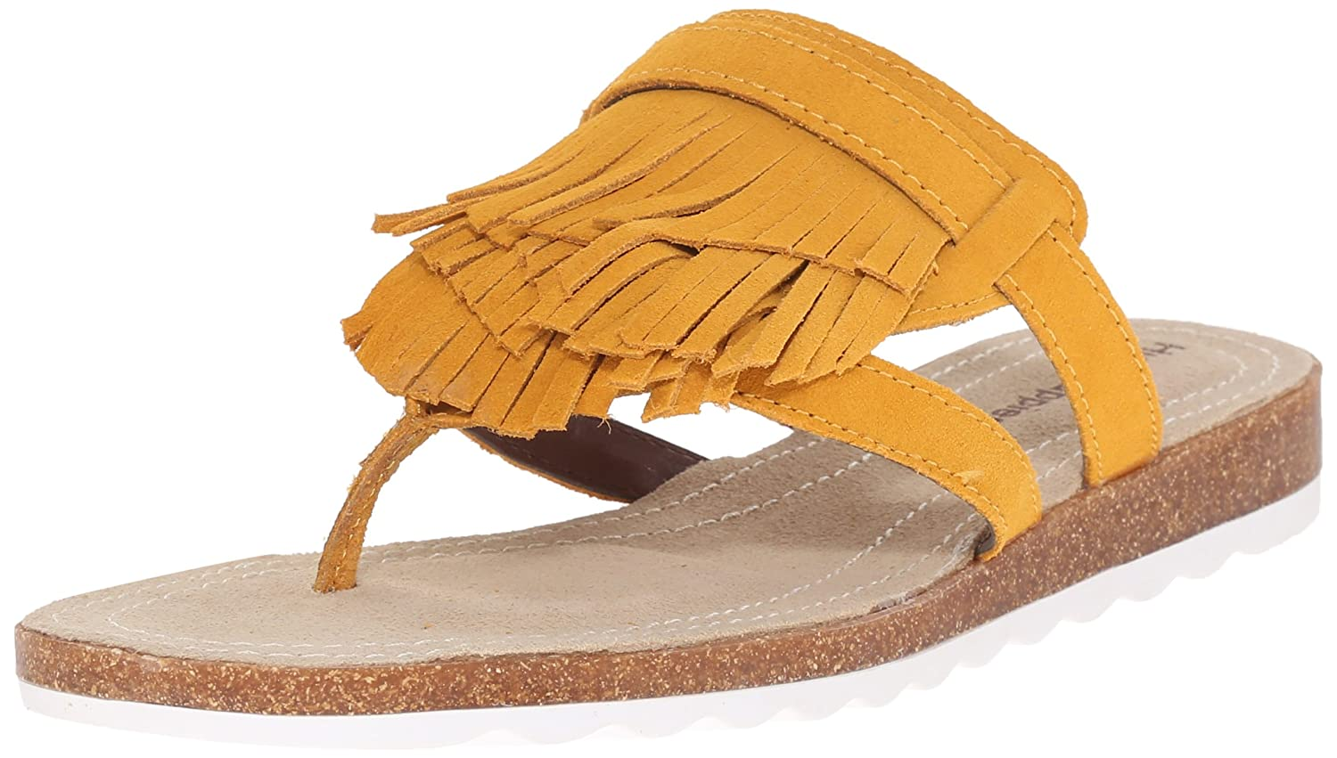 Hush Puppies Women's Bryson Jade Flat Sandal B014M6W3OI 6 B(M) US|Warm Yellow