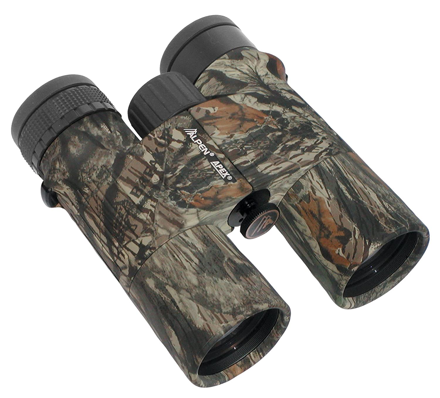 Alpen Optics APEX XP 10X42 Waterproof, Fully Multi Coated, BaK4 Long Eye Relief Roof Prism Mossy Oak Camo Binocular