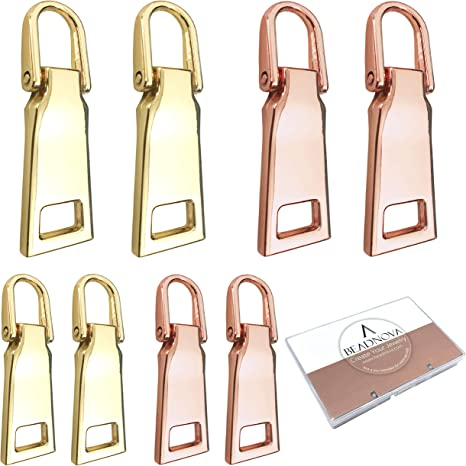 C X1 35MM REPLACEMENT ZIP ZIPPER PULL PULLER REPAIR TAG BAGS JACKETS SUITCASES