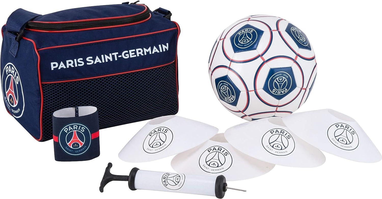 Paris Saint Germain. Mochila + balón + brazalete + bomba + conos ...