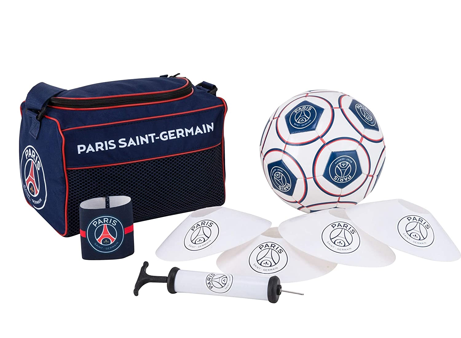 Rucksack + Ball + Manschette + Pumpe + Kegel PARIS SAINT GERMAIN