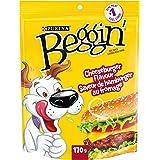 Beggin' Strips Dog Treats, Cheeseburger Flavour Dog Snacks - 170 g