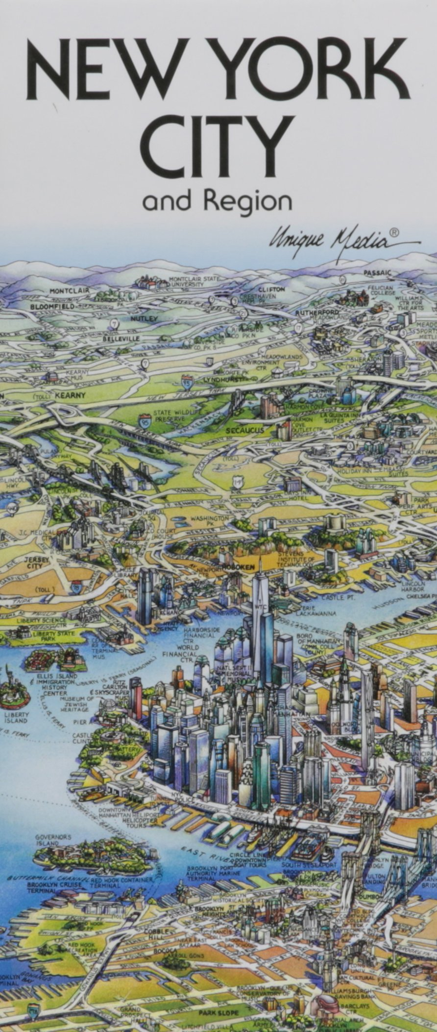 Download Unique Media Map : New York City/Folded pdf epub