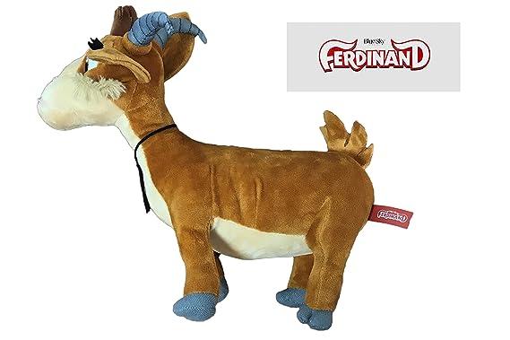 Peluche de la película Ferdinand - Cabra Lupe 30 cm - 760016369-3: Amazon.es: Juguetes y juegos