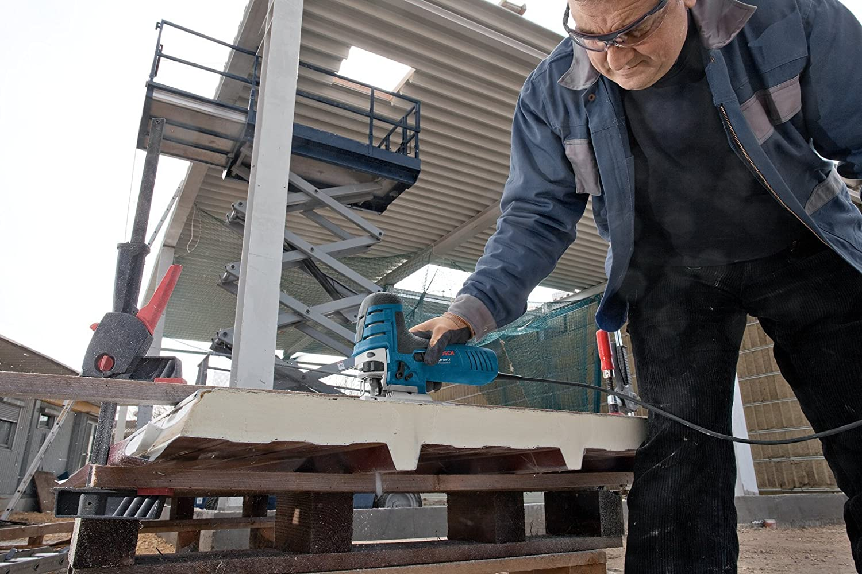 Abdeckhaube Gleitschuh GST 150 CE L-BOXX 136 Saugd/üse kein Schlauch enthalten Spanrei/ßschutz 2608630560 1x Stichs/ägeblatt T 144 D f/ür Holz