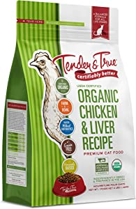 Tender & True Organic Chicken & Liver Recipe Cat Food