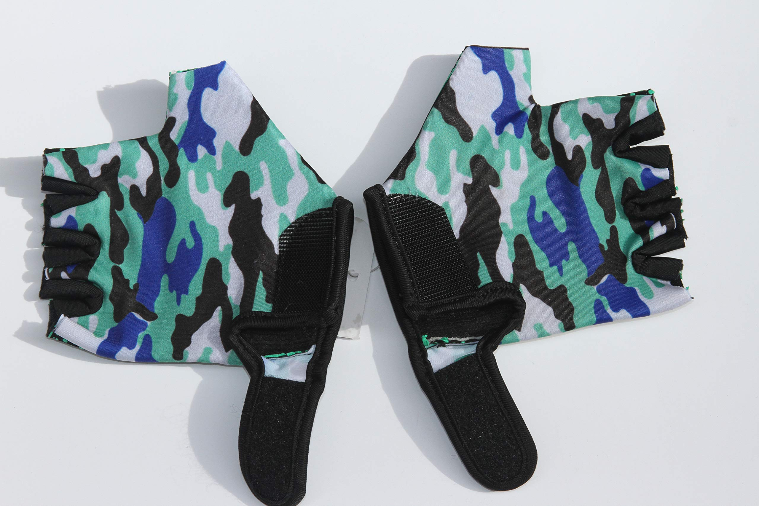 HANG Monkey Bars Gloves with Grip Control (for 7 and 8 Years Kids) Comes with a Pouch