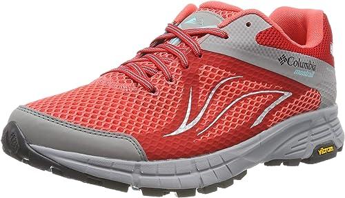 Columbia Mojave II Outdry, Zapatillas de Trail Running para Mujer, Rojo (Red Coral, Iceberg), 41.5 EU: Amazon.es: Zapatos y complementos