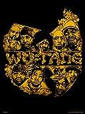 On the Wall OTW0082 Kunstdruck The Wu Tang Clan, designt von Mike Winnard