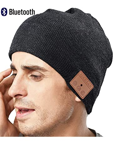 Upgraded Unisex Knit Bluetooth Beanie Winter Music Hat Headphones V4.2  w Built- fffd60e69dcf