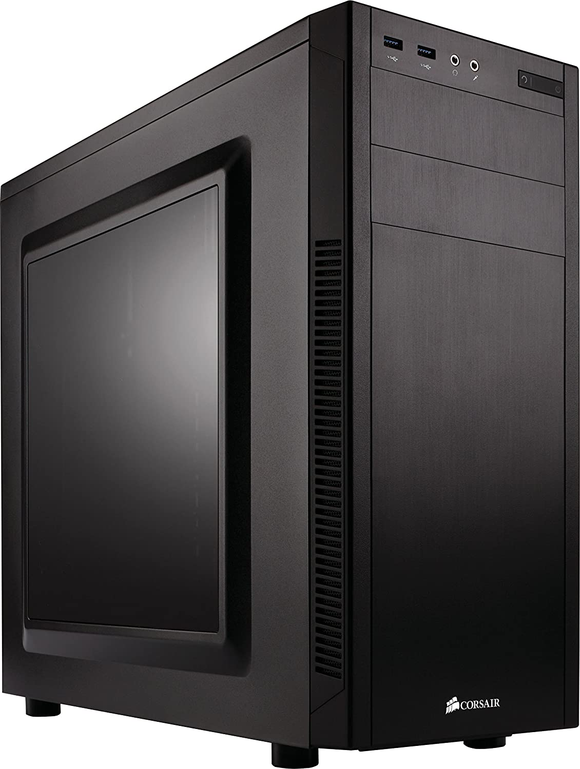 Corsair CC-9011075-WW Carbide Series 100R Mid Tower Case, Black