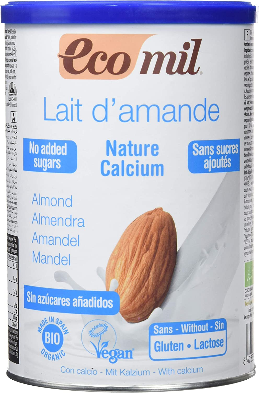 Ecomil Nature, Bebida de almendra Sin Azúcares Añadidos (Calcio) - 400 gr: Amazon.es: Alimentación y bebidas
