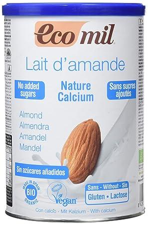 NUTRIOPS - ECOMIL ALMEND NATURE CALCIO 400g NUTRIOPS: Amazon.es: Salud y cuidado personal