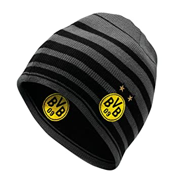 37c297876e1 Puma Borussia Dortmund Performance Beanie Hat grey Ebony-Black Size One Size