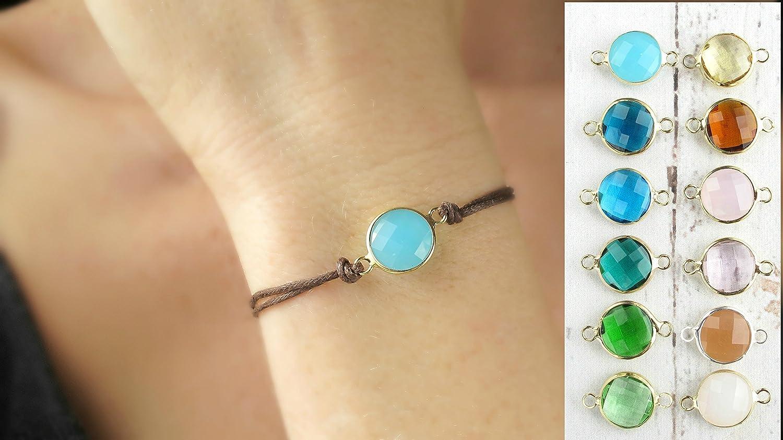 Beautiful Delicate Skinny Semi Precious Faceted Gemstone Bracelets in Four Fabulous Colour Combinations,Skinny,Delicate,Gemstone