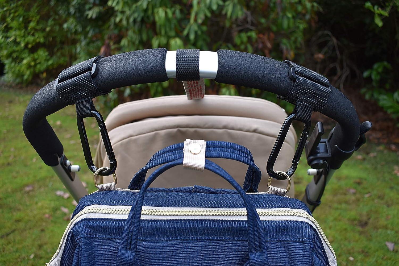 Colore Nero 2 pz Gancio Universale per qualsiasi Passeggino o Carrozzina buste della spesa /& borse Cosy Angel Ganci passegini e Carrozzina per agganciare borsa fasciatoio neonato