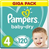 Pampers Baby Dry Größe 3 Midi 4-9kg Jumbo Plus Pack 1 x 120 Windeln