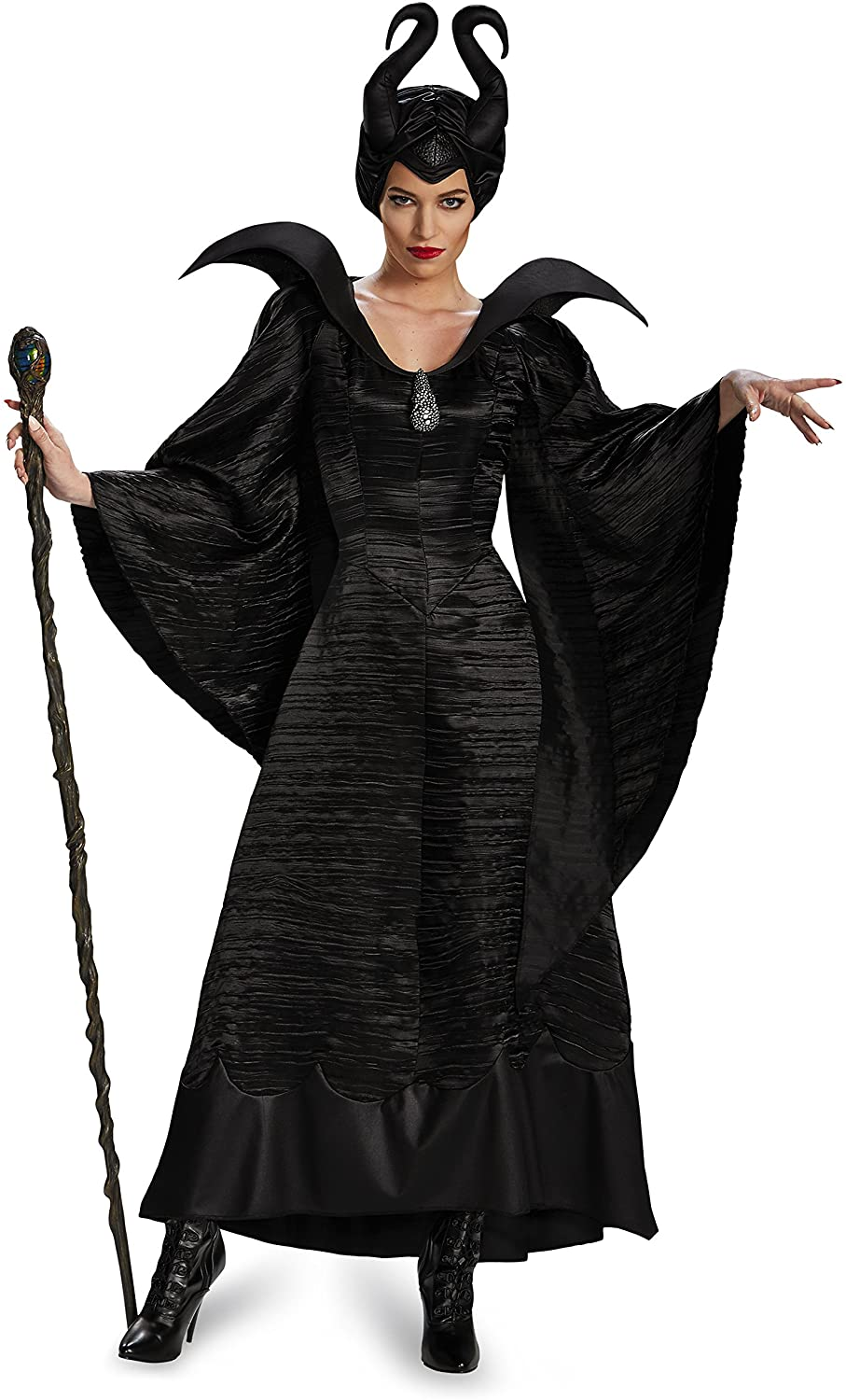 Disguise Womens Disney Maleficent Movie Maleficent Deluxe Glowing Staff
