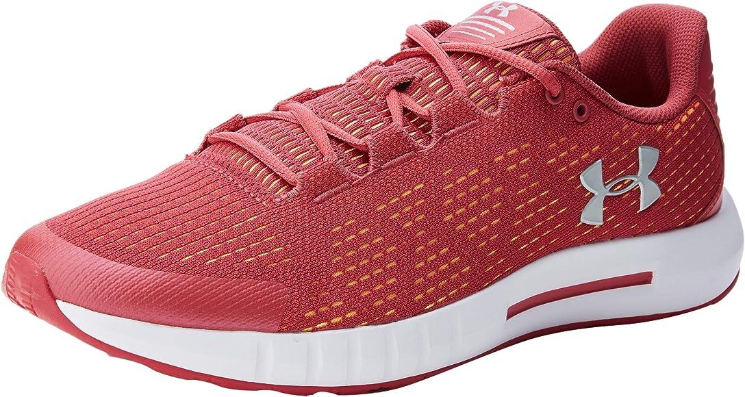 Under Armour Micro G Pursuit Se, Zapatillas de Running para Mujer, Rosa (Impulse Pink/White/Metallic Silver (600) 600), 36.5 EU: Amazon.es: Zapatos y complementos