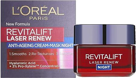 L'Oreal Revitalift Laser Crema Rejuvenecedora de Noche - 50 ml ml