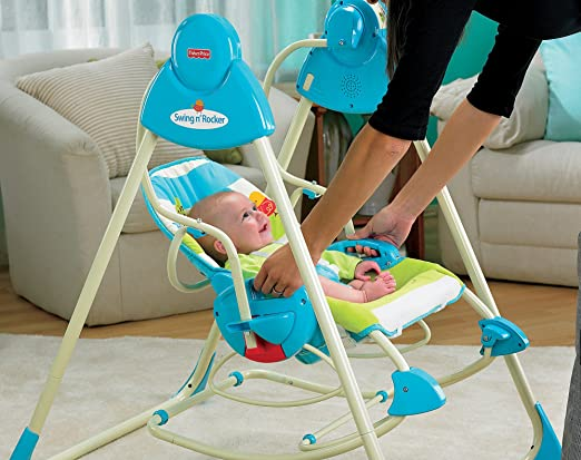 Fisher-Price Smart Stages - columpio, asiento y basculante 3 en 1: Amazon.es: Bebé
