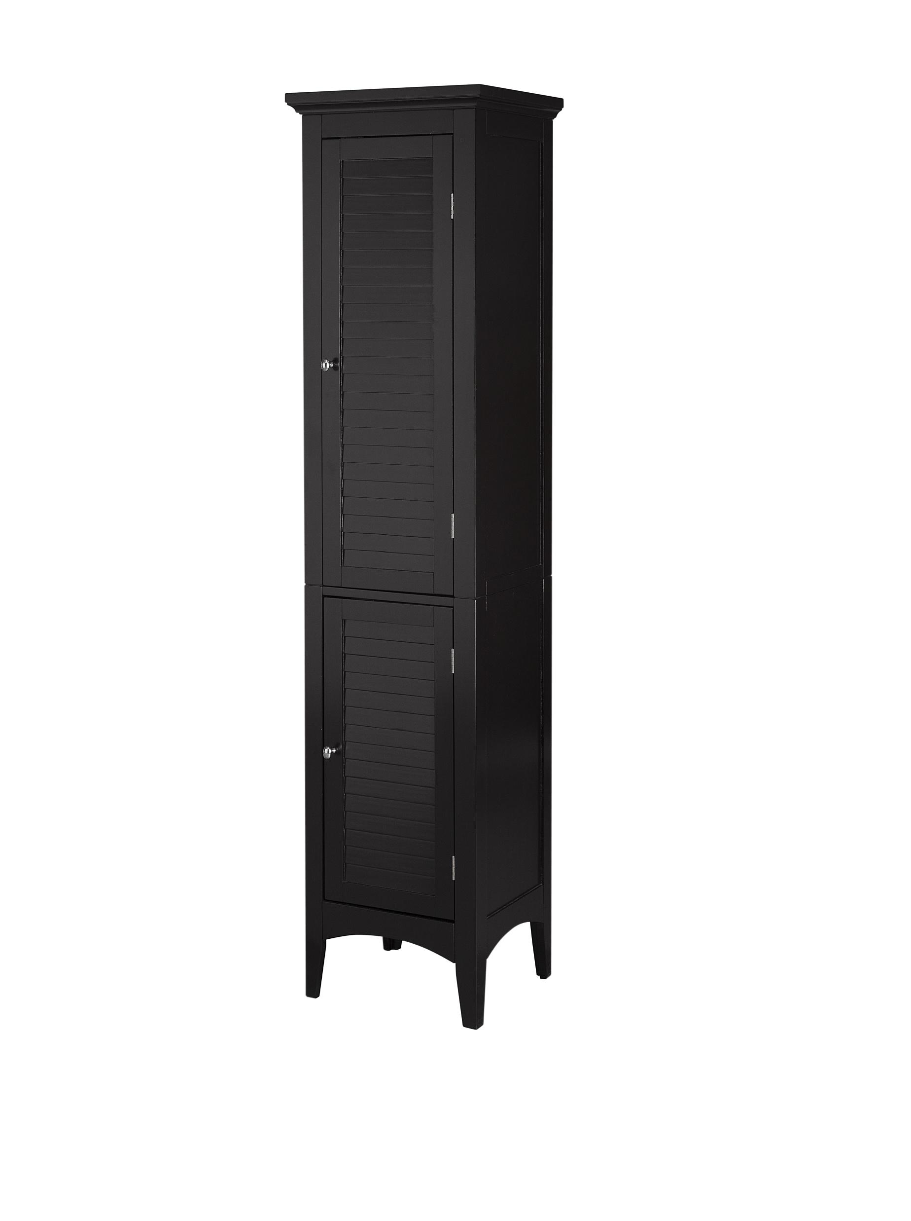 Elegant Home Fashions Slone Two-Shutter Door Linen Tower