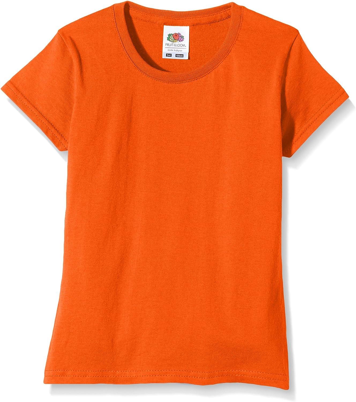 Girls Sofspun Tee T-Shirt Kids Plain T Short Half Sleeve Tee Shirt Crew Neck TOP