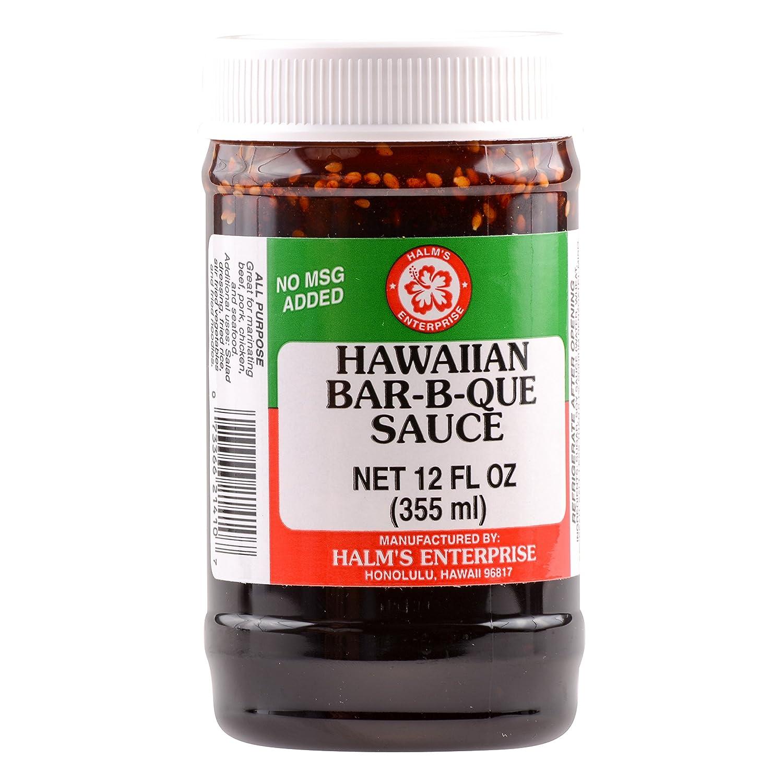 Halm's Hawaiian Barbeque Sauce 12 Ounce