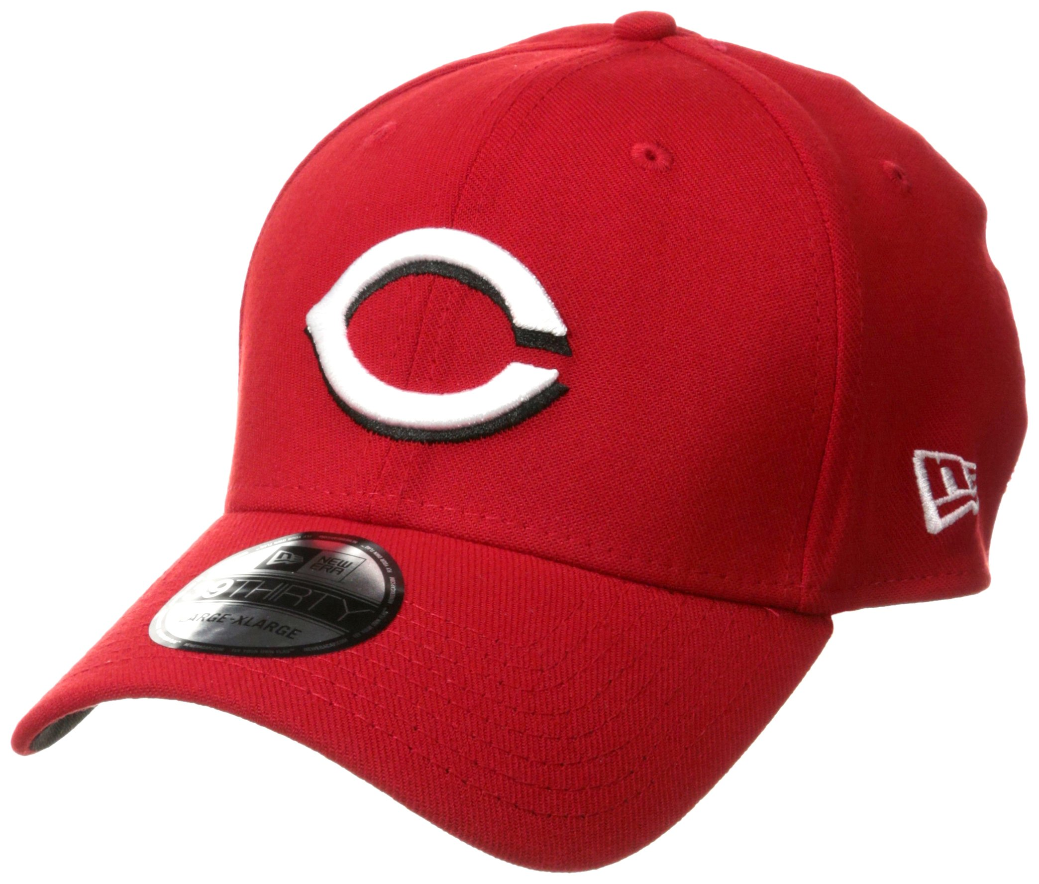 New Era MLB Team Classic 39Thirty Stretch Fit Cap, Red Large/X-Large